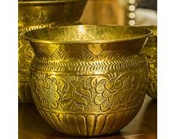 Mosiężna osłona w kolorze złotym duża