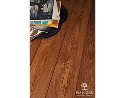 Deska Podłogowa Lita Dąb Walczak 15,5 x 120 x 560 - 1810 mm Olej Mahoń
