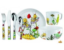 Auerhahn - Zestaw Akcesoriów do Jedzenia dla Dzieci Sztućce + Porcelana - MAJA
