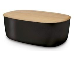 RIG-TIG by Stelton - Chlebak - Pojemnik na Chleb z Deską Bambusową Czarny