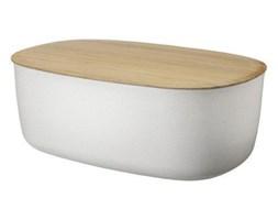 RIG-TIG by Stelton - Chlebak - Pojemnik na Chleb z Deską Bambusową - Biały