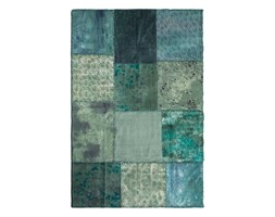 Kare design :: Dywan Patchwork Velvet Turquoise 170x240cm