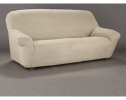Pokrowiec zamszopodobny na gumce, na fotel i kanapę