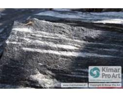 Kamień ogrodowy ozdobny Biało czarny kwarcyt