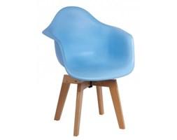 Krzesło P018 Cross - D2 - niebieskie