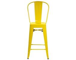 Hoker ParisBack żółty - inspirowany Tolix, archonhome.pl