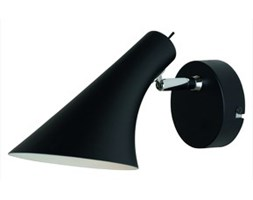 Nowoczesna regulowana lampa ścienna Liam czarna