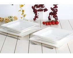 Serwis obiadowy AMBITION PORTO na 6 osób (18 el.)-- biały - rabat 10 zł na pierwsze zakupy!