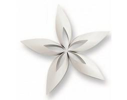 Philippi Christmas - Ozdoba choinkowa gwiazdka STELLA - biała - 12 cm - P141011