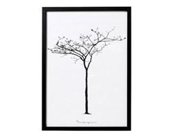 Plakat z drzewem