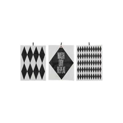 Ścierka kuchenna Diamond Print 3 szt.