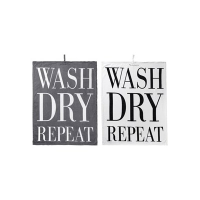 Ścierka kuchenna Wash Dry Repeat 2 szt.