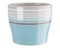 Osłonka ceramiczna 16 cm, niebieska.