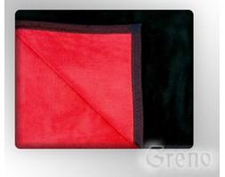 Koc Greno Glamour Collection 150x200 Czerwono - Czarny