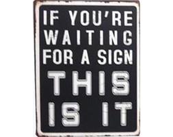 Tablica Sign