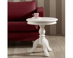 Dekoria Stół Lara śr. 50cm biały, o50cm