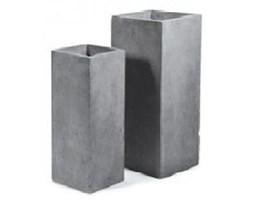 Donica ogrodowa betonowa M 40x40xH78 cm.