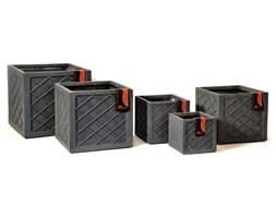 Donica ogrodowa beton akryl M 33X33X30,5