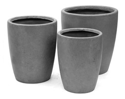 Donica ogrodowa beton akryl M śr.34X43,5