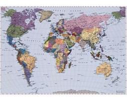 World Map - fototapeta
