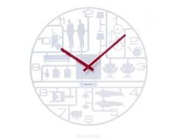 Zegar ścienny - Karlsson - Model Kit white
