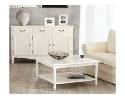 Dekoria Stolik Dorothee 90x90x46cm white, 90x90x46cm