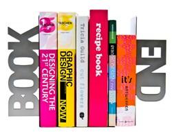 Podpórka do książek Book End silver by pt,