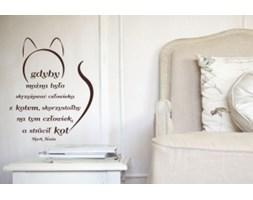 Naklejka na ścianę NSCY001 - Kot
