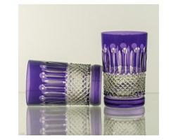Szklanki kryształowe do wody, soku malowane 150 ml, kpl. 6 sztuk - 2649