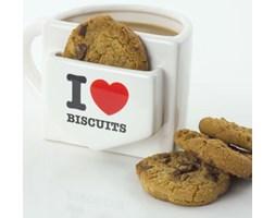 Kubek z kieszonką KOCHAM CIASTECZKA - I Love Biscuits