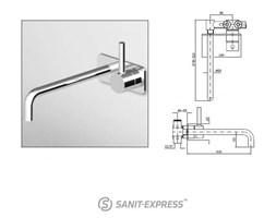 Zucchetti Pan Bateria umywalkowa 2-otworowa ZP6124