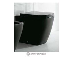 Globo Stone Miska wc stojąca - czarna matowa SS002.AR