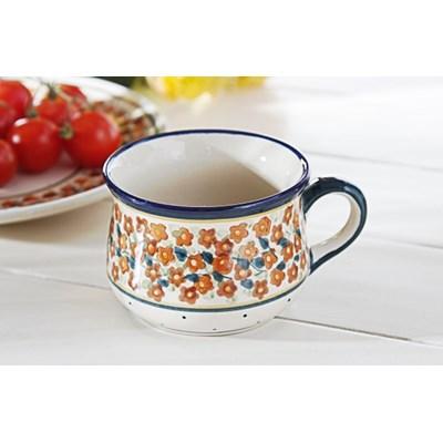 Fili�anka ceramiczna GU-1595 DEK. DU52 220 ml (drugi gatunek) -- kremowy - rabat 10 z� na pierwsze zakupy!