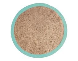 HK Living ::Okrągły dywan turkusowy