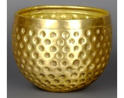 Mosiężna osłona w kolorze złotym mała