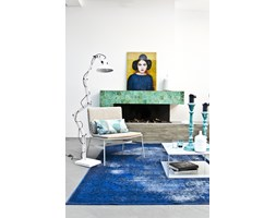 HK Living ::Dywan barwiony niebieski 90x175 cm
