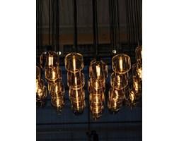 Lampa wisząca Amp - Okrągła złotozielony szkło/marmur - Simon Legald