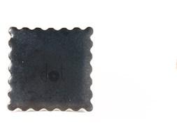 Niska gałka - znaczek czarny