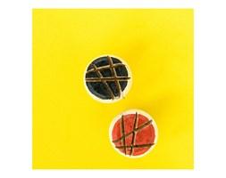 Gałka korkowa - linie (czarne tło)