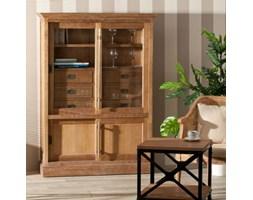 Dekoria Witryna Chantal z 6 szufladami + drzwi, 115x40x159cm