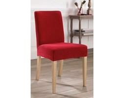 Pokrowiec na krzesło z tkaniny imitującej zamsz, rozciągliwy