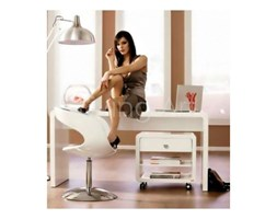 Biurko White Club 150x70, kare design