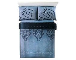 Pościel Benetton Tribal Szaro-Niebieska
