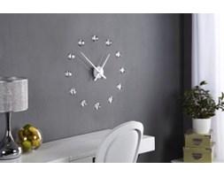 Zegar ścienny z diamencikami dekoracja