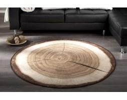 Dywan okrągły w ksztacie pnia drzewa 133 cm