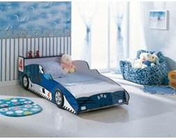 Łóżko ROBERT, niebieski