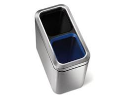 Kosz na śmieci recycler Simplehuman wąski 20l