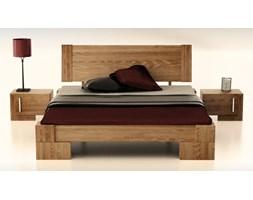 Vanes wysokie łóżko z drewna bukowego, rozmiar 90x200