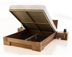 HANOY z pojemnikiem łóżko z drewna bukowego, rozmiar 140x200