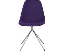 Zuiver :: Krzesło Fourteen purpurowe/chromowane